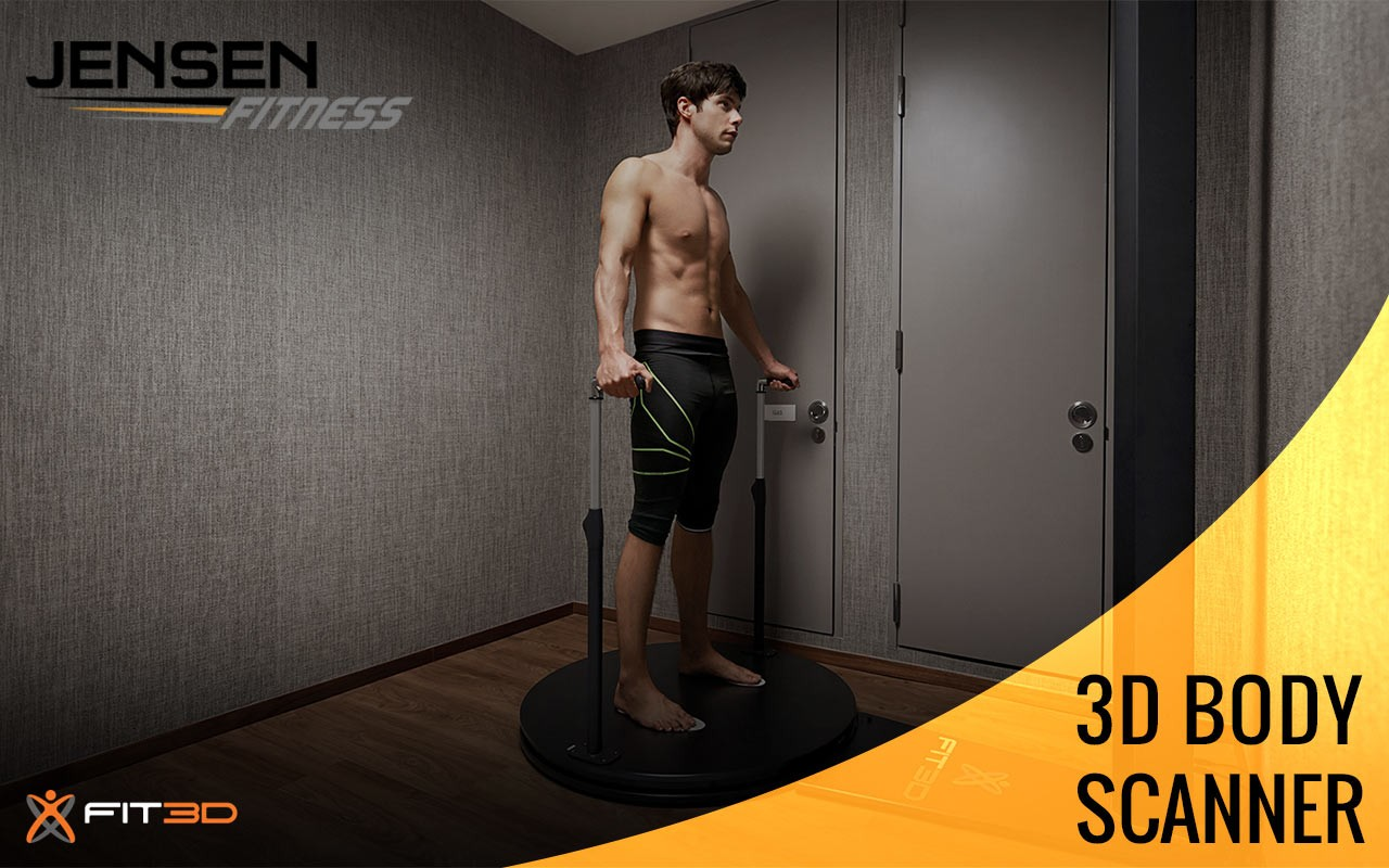 Jensen Fitness 3D Body Scanner Fit 3D Calgary Canada