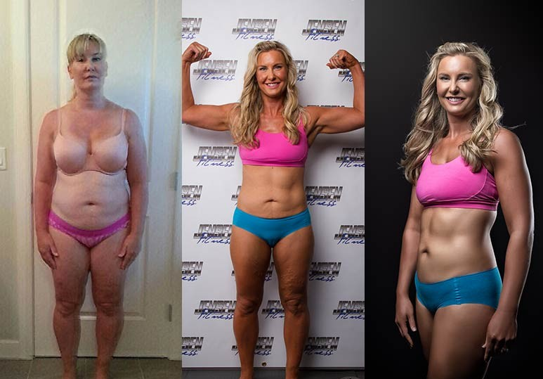Michelle - 32 Week - 50 Pounds Transformation