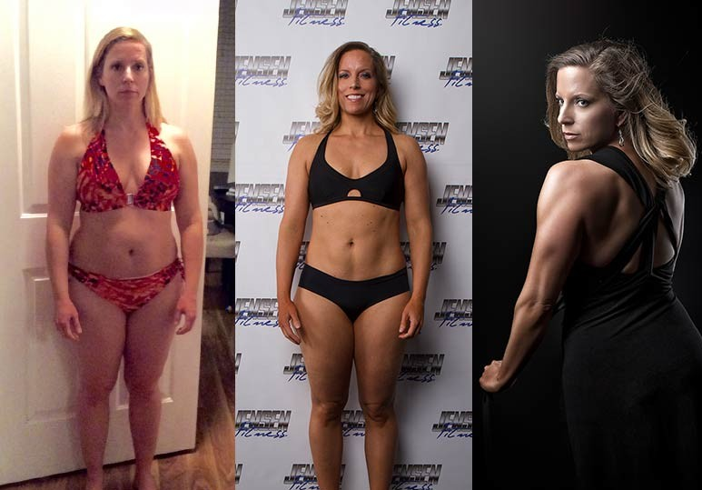 Lisa - 10 Week - 22 Pounds Transformation