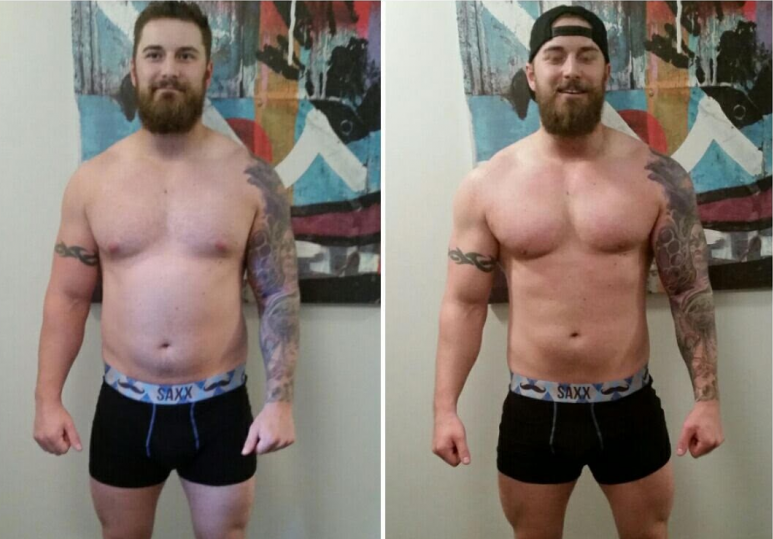 Curtis - Online Training 10 Week Progress