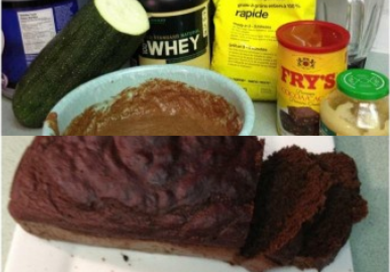 Chocolate Zucchini Protein Bread