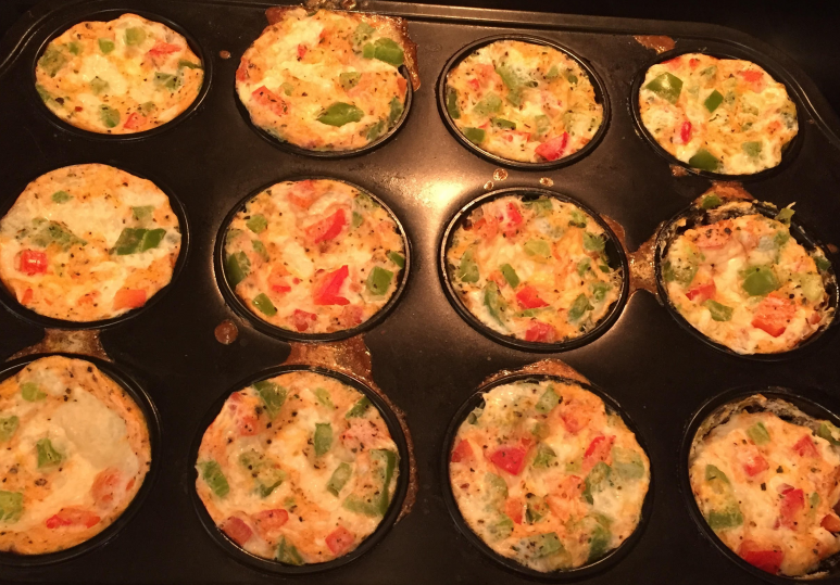 Egg White Muffins for a quick and healthy breakfast